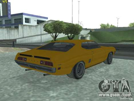 Ford Torino 70 for GTA San Andreas left view