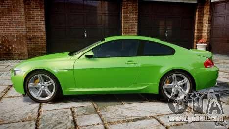 BMW M6 2010 v1.0 for GTA 4 left view