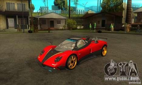 Pagani Zonda Tricolore V1 for GTA San Andreas