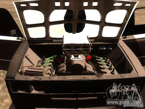VAZ 2106 Drag Racing for GTA San Andreas upper view