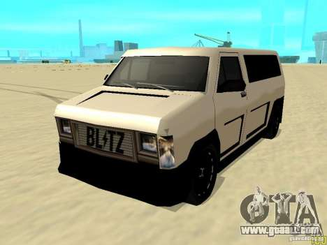 Burrito by W1nstoN for GTA San Andreas