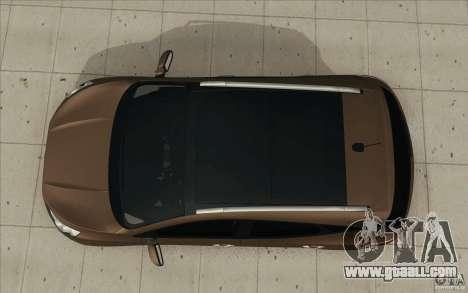 Hyundai ix35 for GTA San Andreas back view