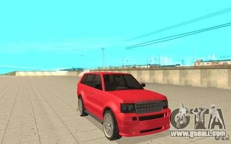 Huntley Sport from GTA 4 for GTA San Andreas