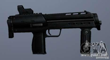 MP7 for GTA San Andreas forth screenshot