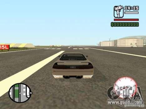 Speedometer DepositFiles for GTA San Andreas second screenshot