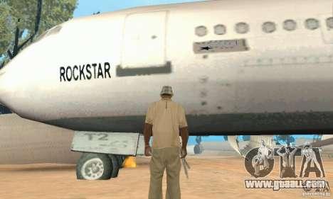 Base of CJ mod for GTA San Andreas fifth screenshot