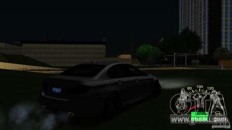 Speedometer VAZ 2110 for GTA San Andreas third screenshot