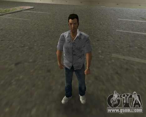 Grey shirt for GTA Vice City