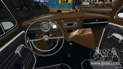 Volkswagen Fusca Gran Luxo v2.0 for GTA 4 back view