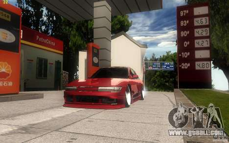 Nissan Silvia S13 Clean Edition for GTA San Andreas side view