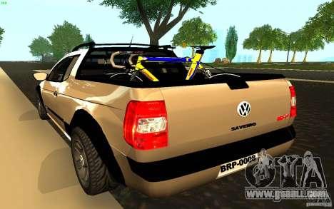 Volkswagen Saveiro for GTA San Andreas left view