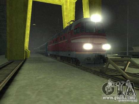 Switch rail shooter for GTA San Andreas
