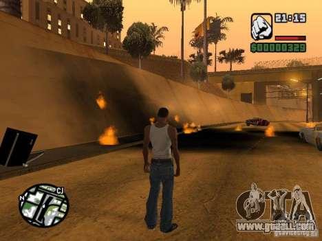 Kyubi-Bomb for GTA San Andreas second screenshot