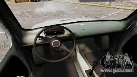 Zastava 750 for GTA 4 inner view