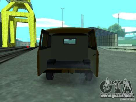 UAZ 3909 for GTA San Andreas inner view
