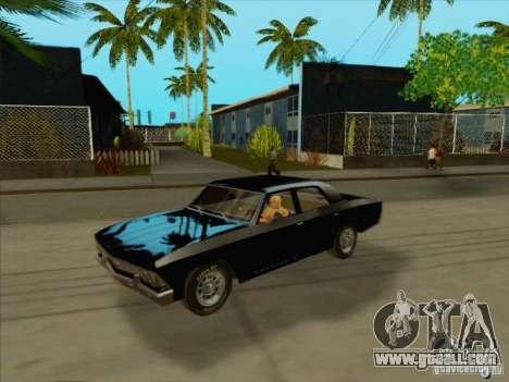 Chevrolet Chevelle for GTA San Andreas