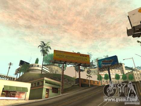 The new advertisement to the mods for GTA San Andreas third screenshot