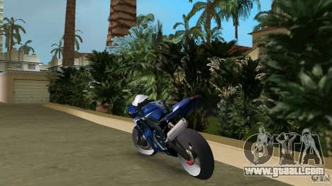 Yamaha YZF R6 2005 for GTA Vice City back left view