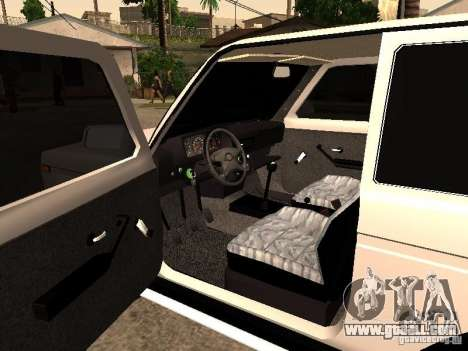 Armenian NIVA DORJAR 4 x 4 for GTA San Andreas back view