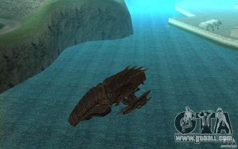 Starship Predator from the game Aliens vs Predat for GTA San Andreas