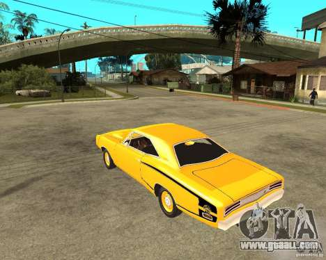 Dodge Coronet Super Bee 70 for GTA San Andreas left view