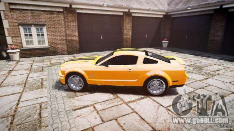 Shelby GT 500 KR 2008 K.I.T.T. for GTA 4 left view