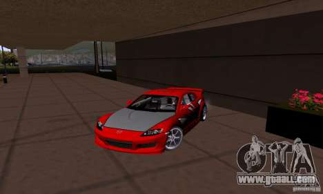 Mazda RX-8 Speed for GTA San Andreas left view