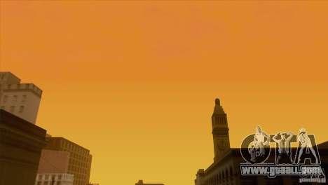 BM Timecyc v1.1 Real Sky for GTA San Andreas twelth screenshot