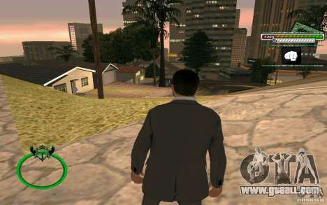 New HD Skin Businessman for GTA San Andreas forth screenshot