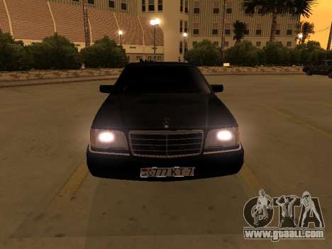 Mercedes-Benz S400 w140 v2.0 for GTA San Andreas