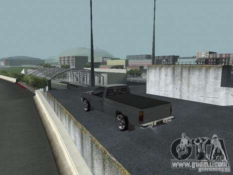Nissan Pick-up D21 for GTA San Andreas back left view