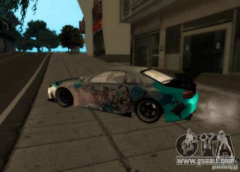 Nissan Silvia S15 for GTA San Andreas left view