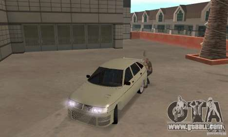 LADA 2112 Tuning (F) for GTA San Andreas left view