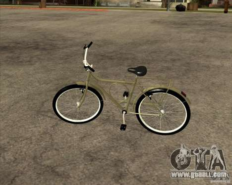 New bike for GTA San Andreas back view