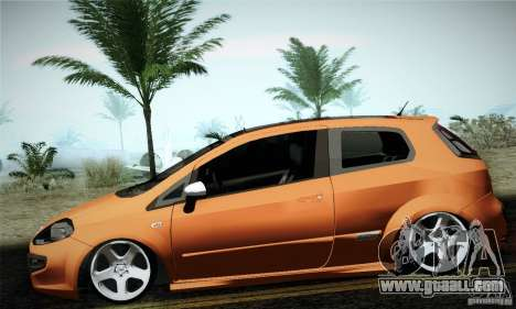Fiat Punto Evo 2010 Edit for GTA San Andreas left view