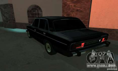VAZ 2106 for GTA San Andreas back view