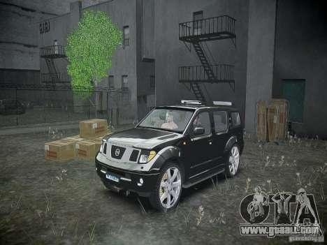 Nissan Pathfinder 2010 for GTA 4