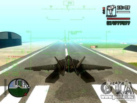 Xa-20 razorback for GTA San Andreas side view