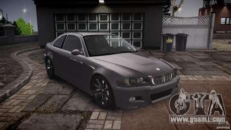 BMW 3 Series E46 v1.1 for GTA 4 back view