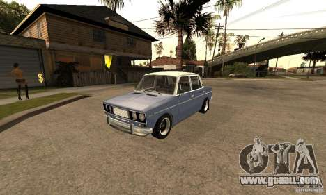 VAZ 2106 Old v2.0 for GTA San Andreas