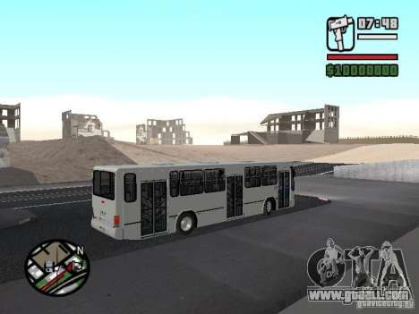 Busscar Urbanus SS Volvo B10M for GTA San Andreas back view