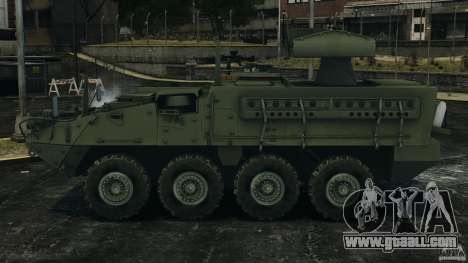 Stryker M1134 ATGM v1.0 for GTA 4