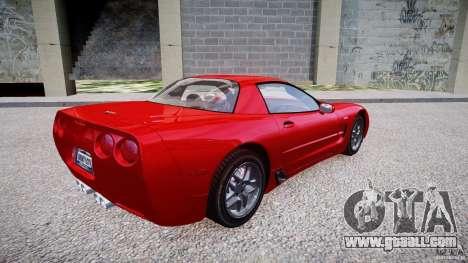 Chevrolet Corvette C5 v.1.0 EPM for GTA 4 right view