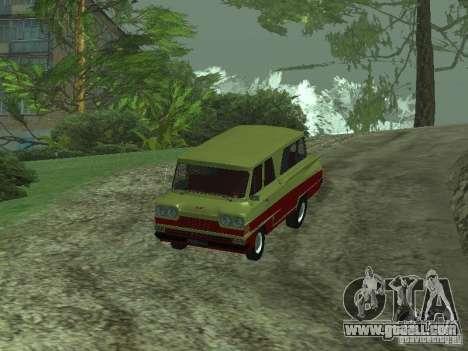 Vehicle Start v1.1 for GTA San Andreas back left view