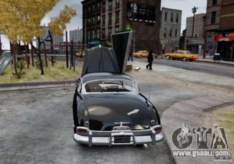 Hudson Hornet Club Coupe for GTA 4 back left view