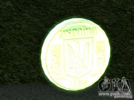 1 hryvnia for GTA San Andreas second screenshot