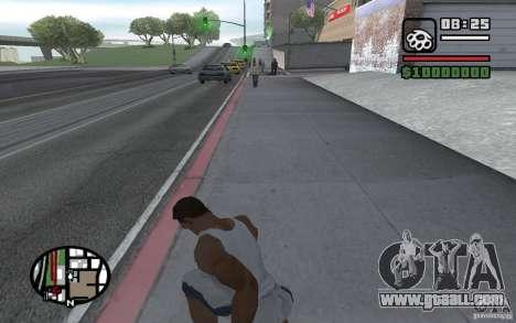 Knife throwing for GTA San Andreas forth screenshot