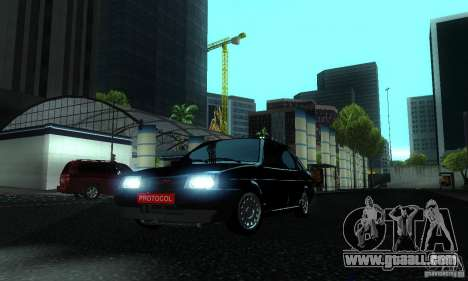 VAZ 21099 PROTOCOL for GTA San Andreas side view