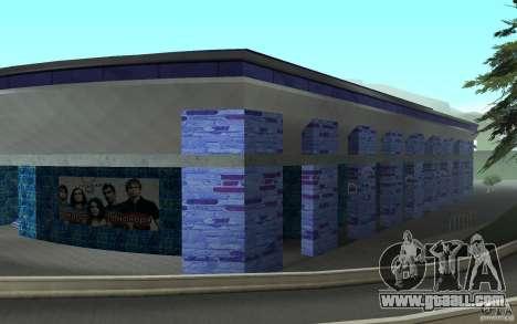 A new stadium in San Fierro for GTA San Andreas