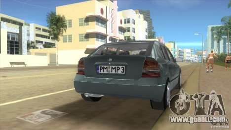 Opel Astra G for GTA Vice City left view